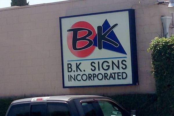 B.K. Signs, Inc.