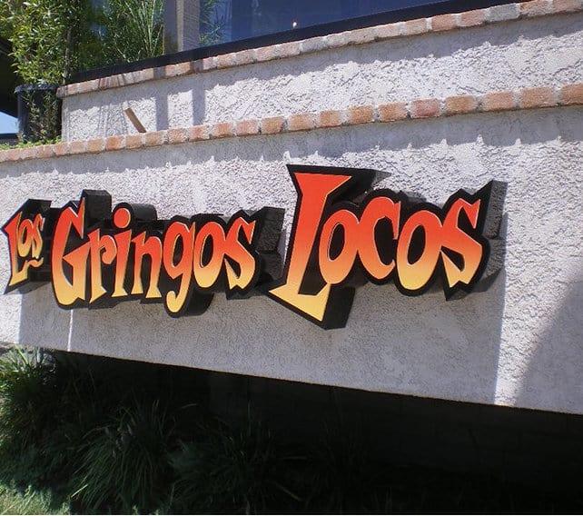 Los Gringos- Channel Letters